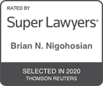Brian Nigohosian Superlawyer